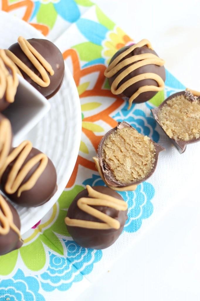 chocolate peanut butter cake truffles 2
