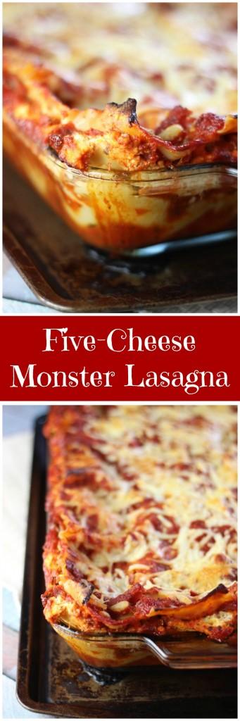 five-cheese lasagna pin