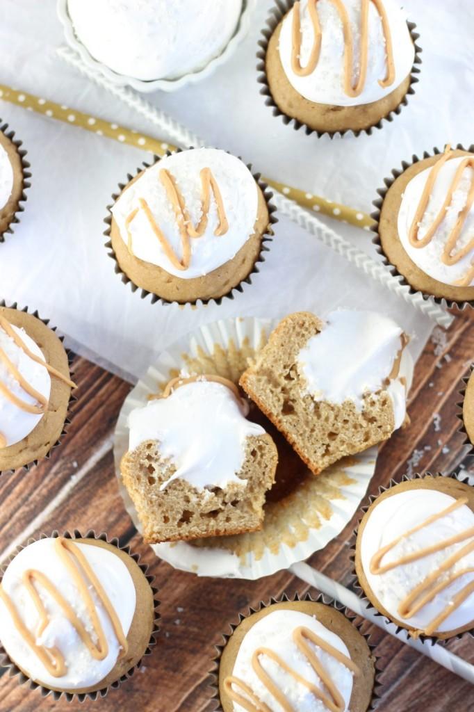 fluffernutter cupcakes 15