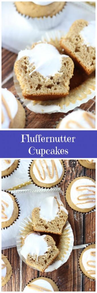 fluffernutter cupcakes pin