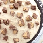 Peanut Butter Cup Fudge Pie