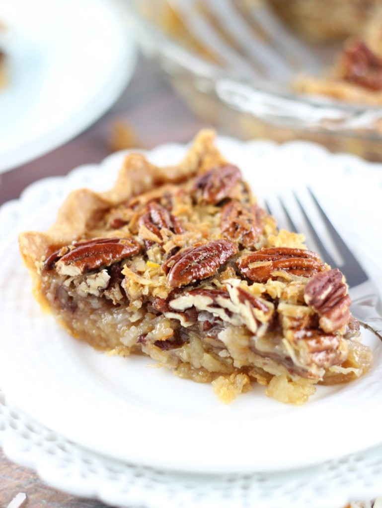 orange coconut pecan pie 15