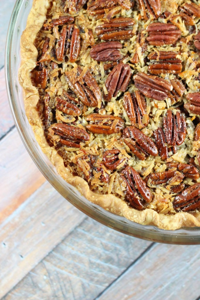 orange coconut pecan pie 5
