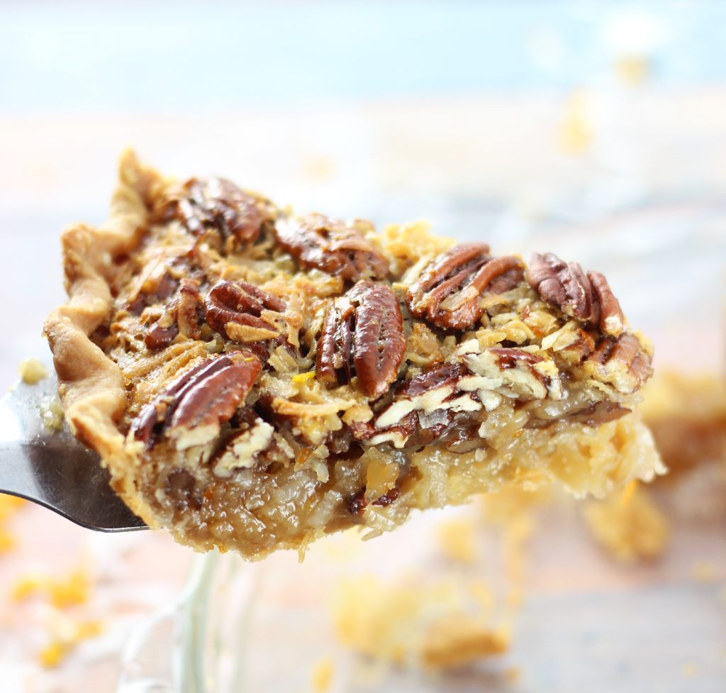 orange coconut pecan pie 8