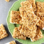 Peanut Butter Cookie Rice Krispie Bars