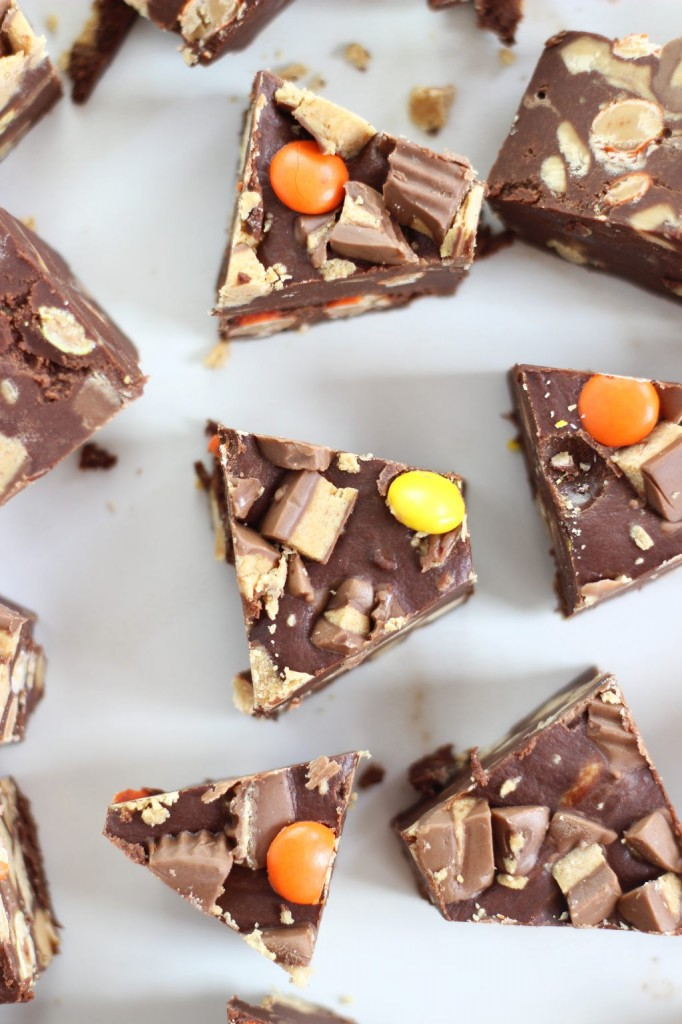 peanut butter cup fudge 10