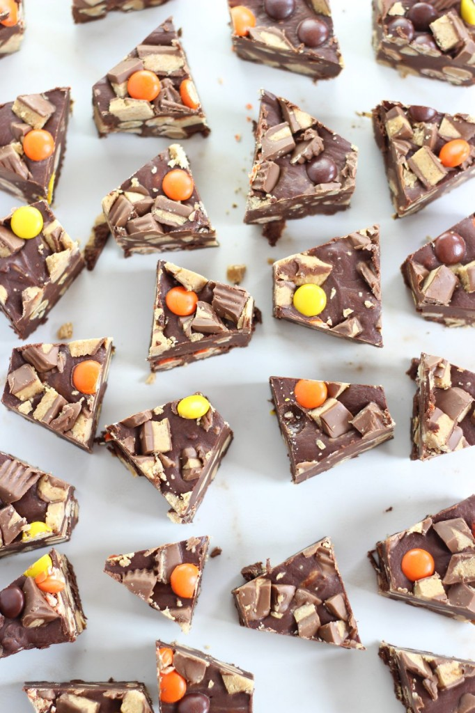 peanut butter cup fudge 8