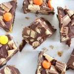 5-Minute Peanut Butter Cup Fudge