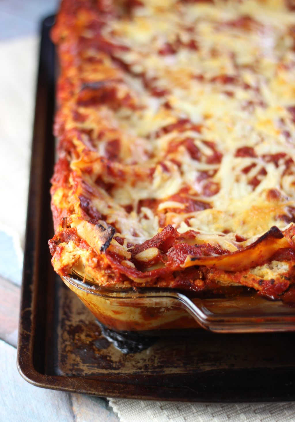 Five cheese monster lasagna the gold lining girl forumfinder Choice Image