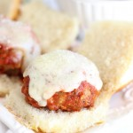 Turkey Meatball Sliders with Cabernet Sauce
