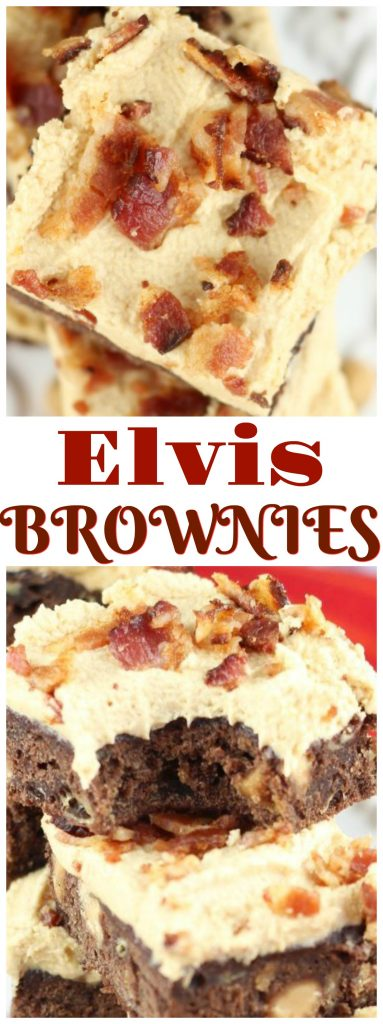 Elvis Brownies recipe image thegoldlininggirl.com pin 2