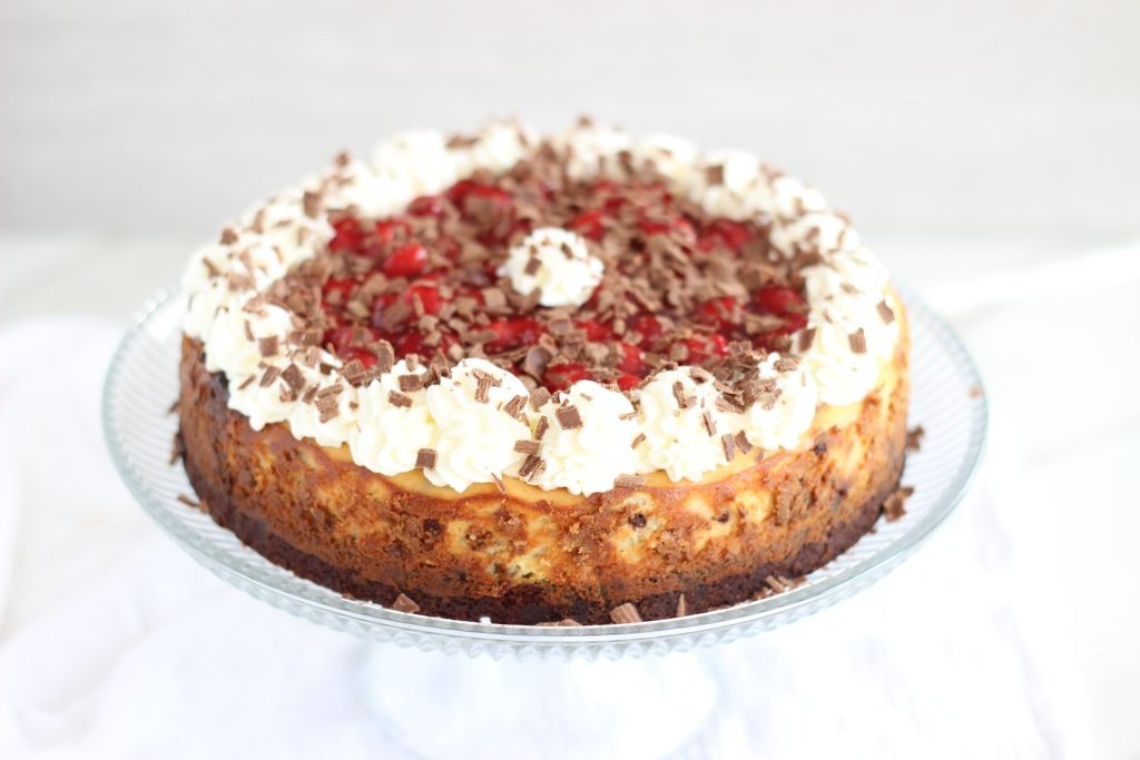 black forest brownie cheesecake 20