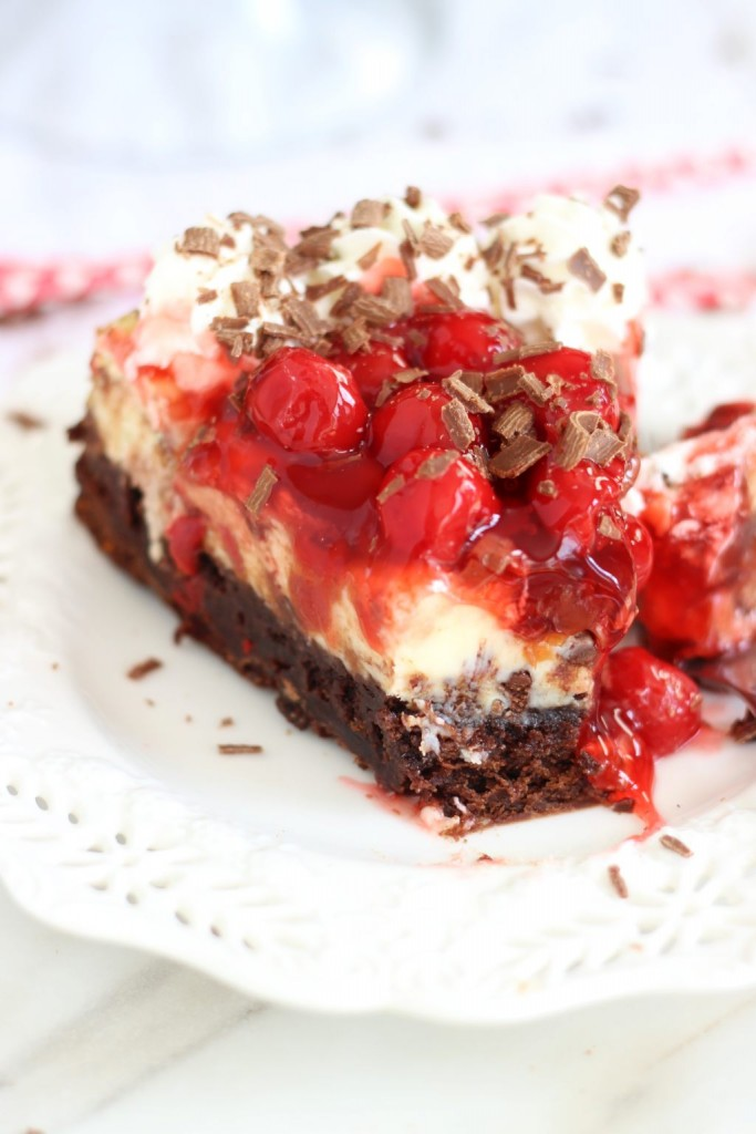 black forest brownie cheesecake 44