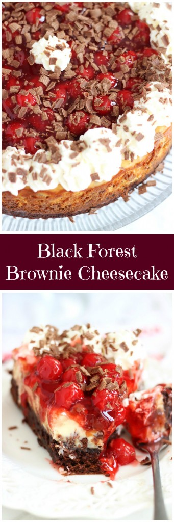 black forest brownie cheesecake pin
