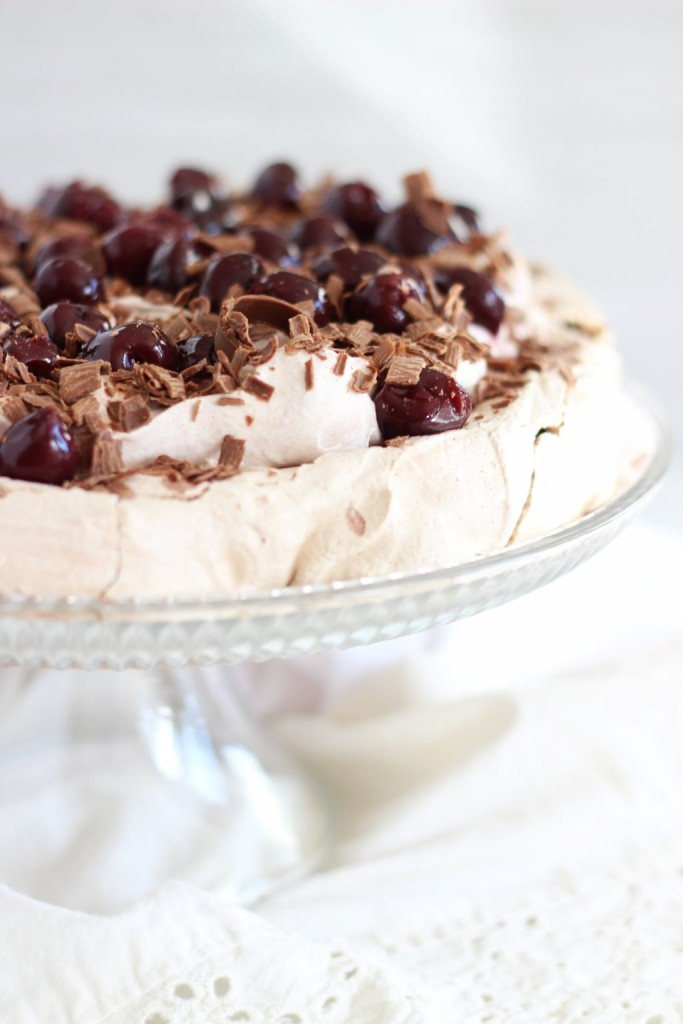 chocolate espresso black forest pavlova 19