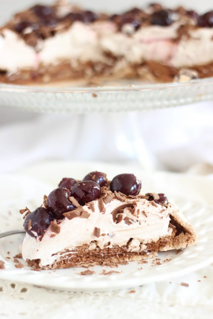 chocolate espresso black forest pavlova 35
