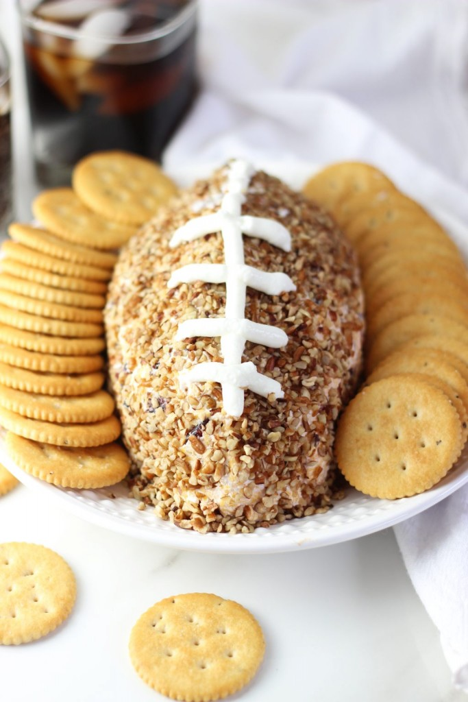 easy football cheese ball recipe 11