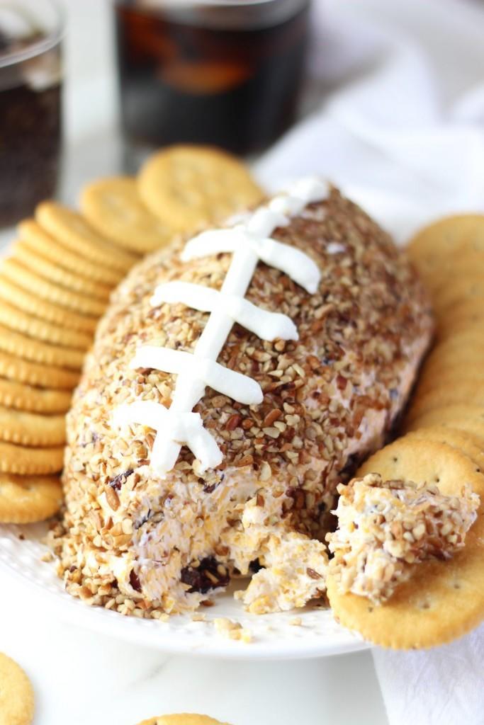 easy football cheese ball recipe 13