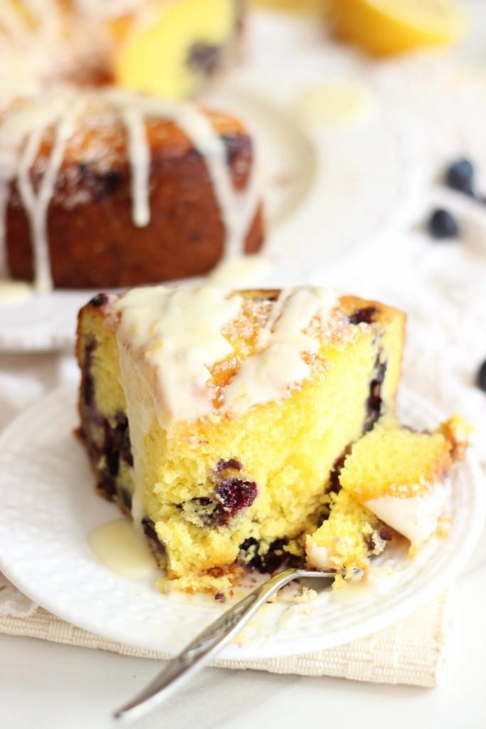 lemon blueberry bundt cake with lemon glaze 35