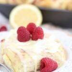 lemon raspberry sweet rolls with lemon mascarpone frosting 10