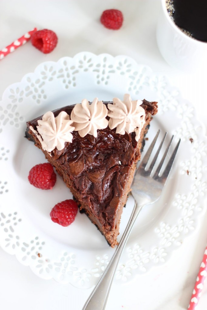 nutella espresso cheesecake with raspberry swirl 15