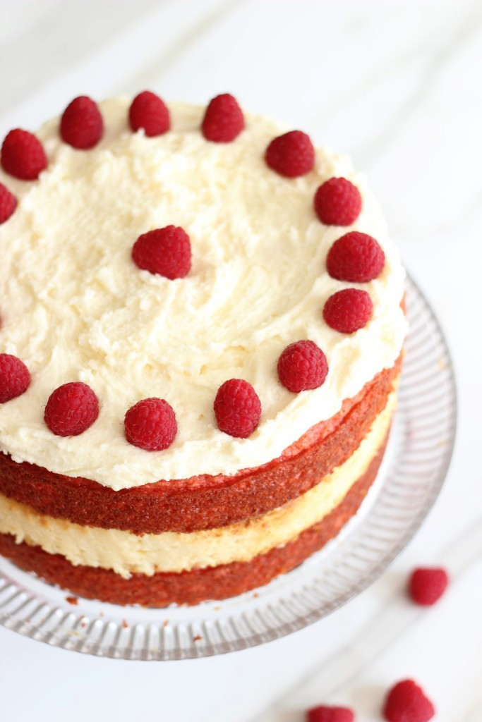raspberry white chocolate cheesecake cake (2)