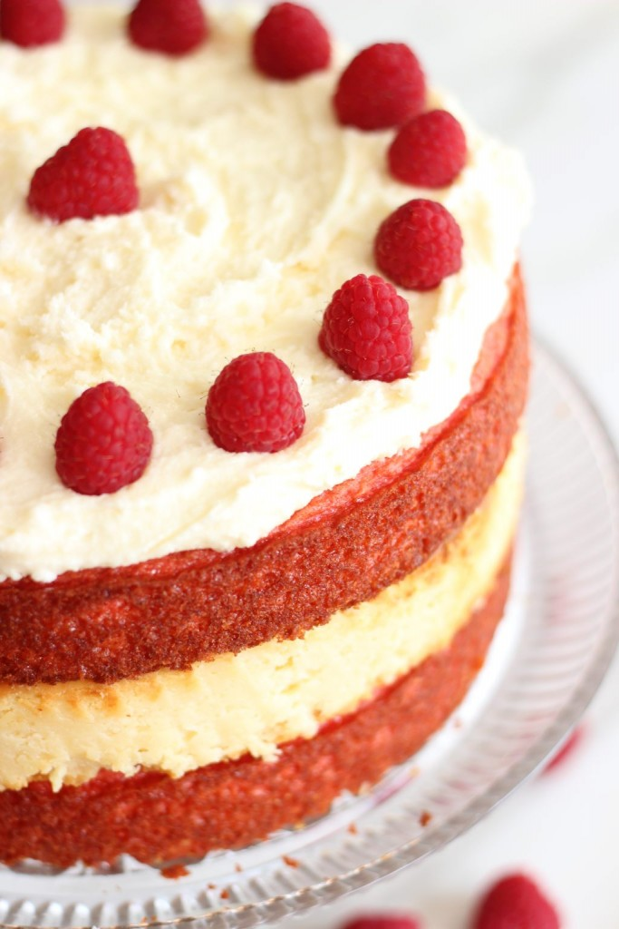 raspberry white chocolate cheesecake cake (5)