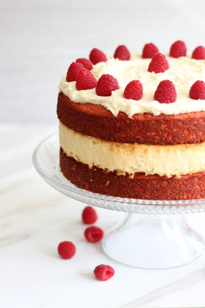 raspberry white chocolate cheesecake cake (8)