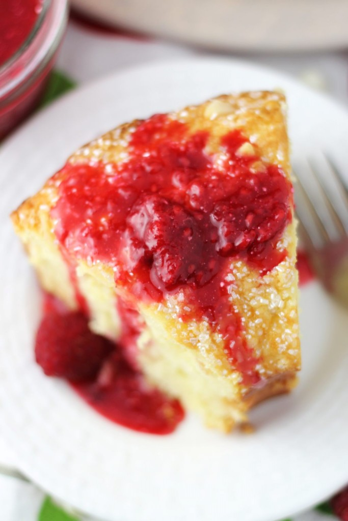 white chocolate macadamia coconut bread with raspberry syrup 18