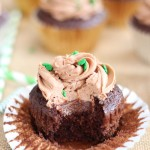 guinness chocolate truffle cupcakes with bailey's frosting 22