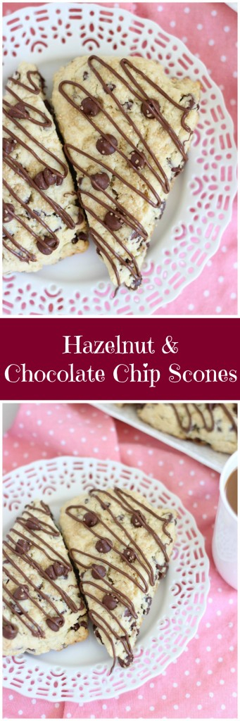 hazelnut chocolate chip scones pin