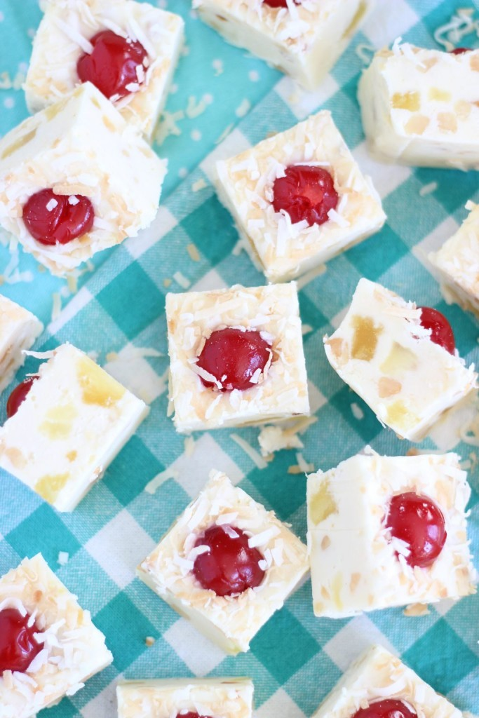 5-minute pina colada fudge 19