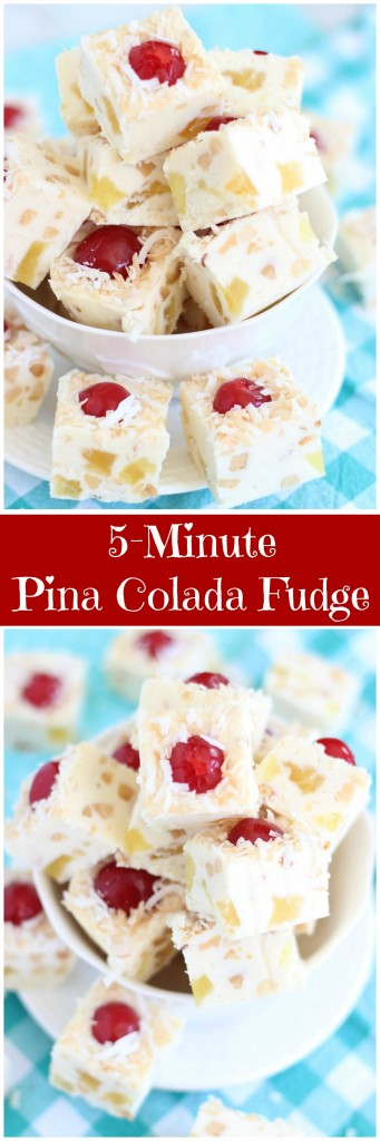 5-minute pina colada fudge pin