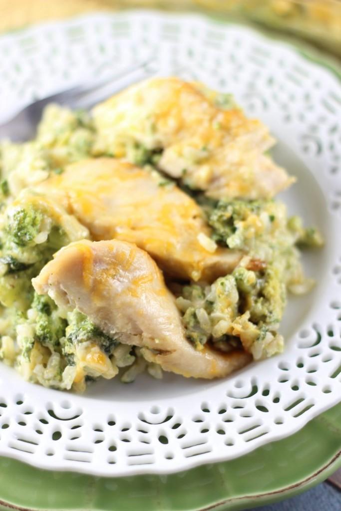 SEO Chicken Broccoli and Rice Casserole 10