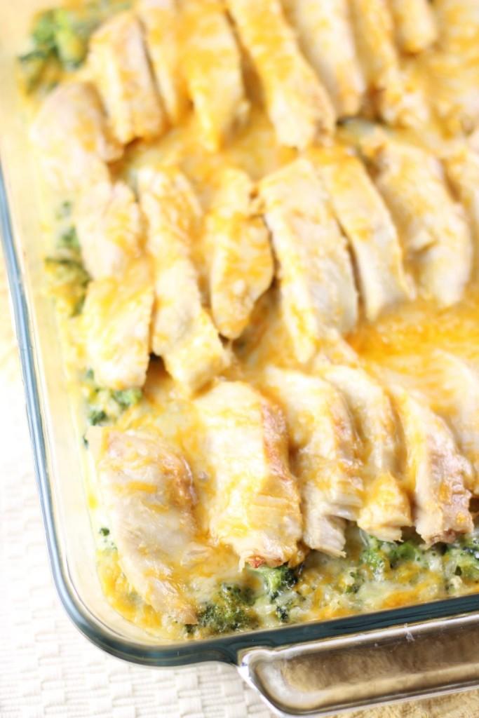 SEO Chicken Broccoli and Rice Casserole 3