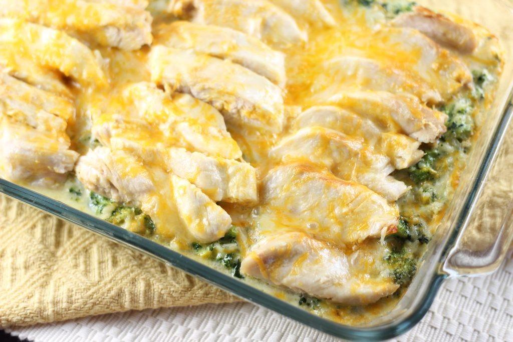 SEO Chicken Broccoli and Rice Casserole 6
