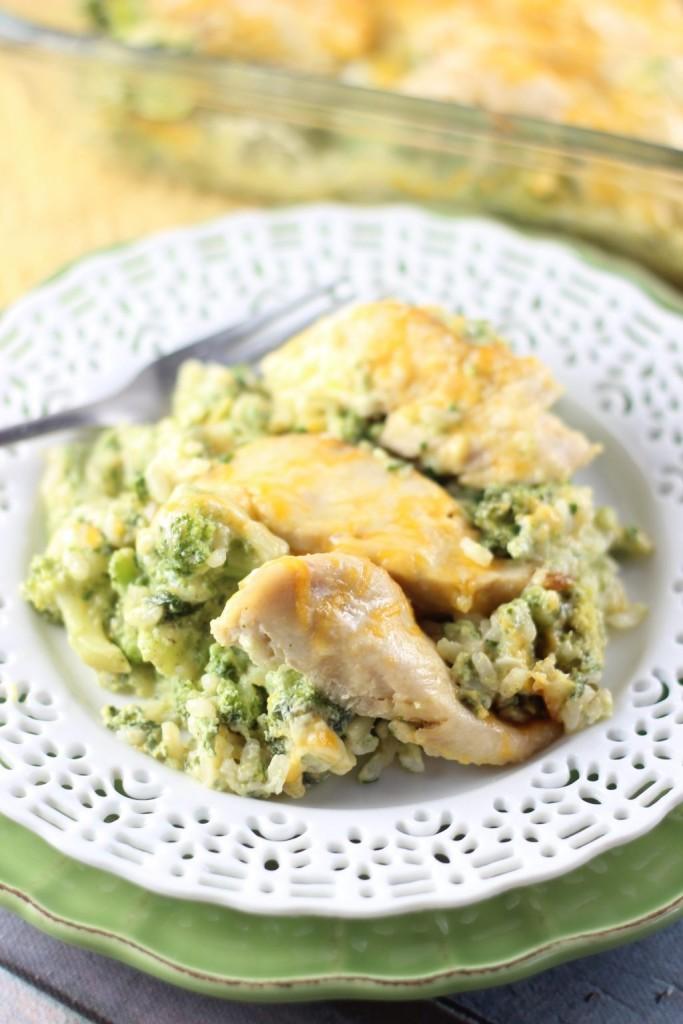 SEO Chicken Broccoli and Rice Casserole 8