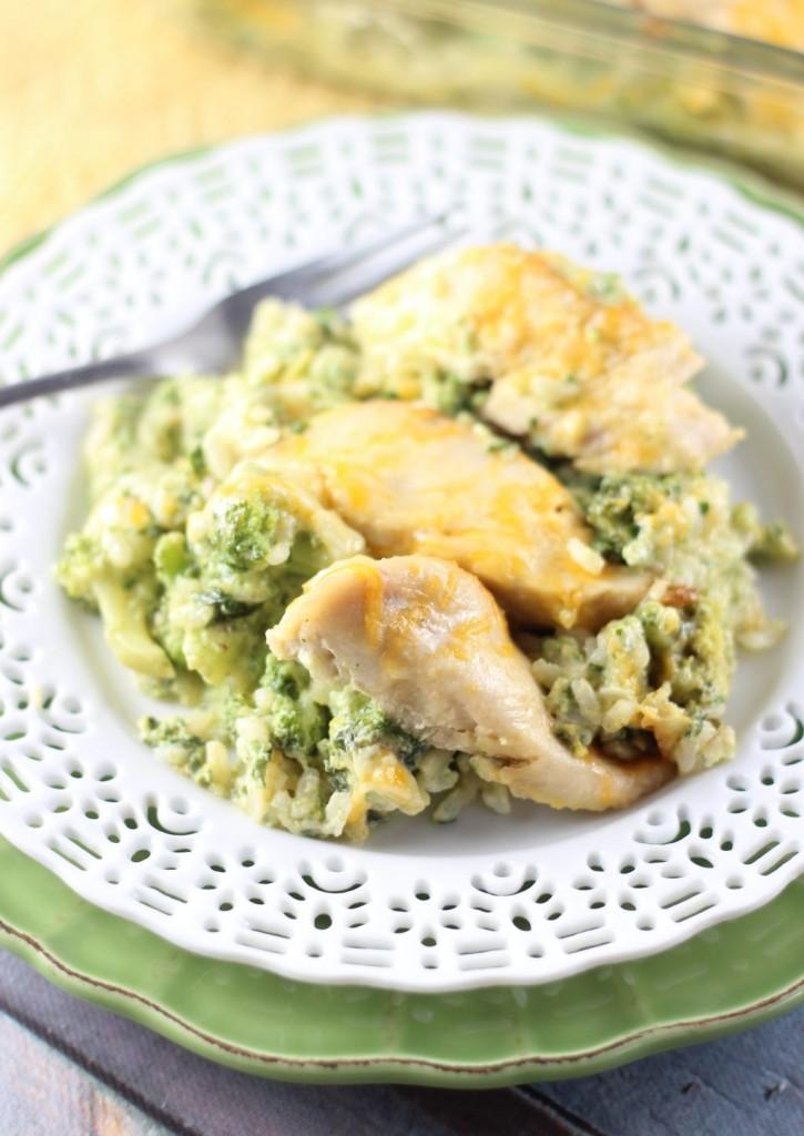 SEO Chicken Broccoli and Rice Casserole 9