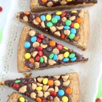 chocolate peanut butter cookie pizza  (17)