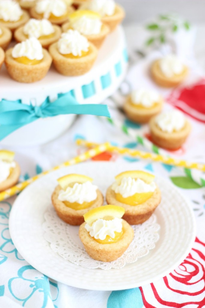 lemon cream pie cookie cups 1
