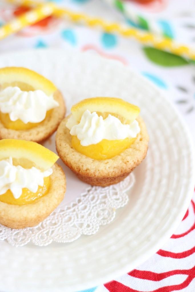 lemon cream pie cookie cups 16