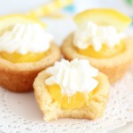 Lemon Cream Pie Cookie Cups