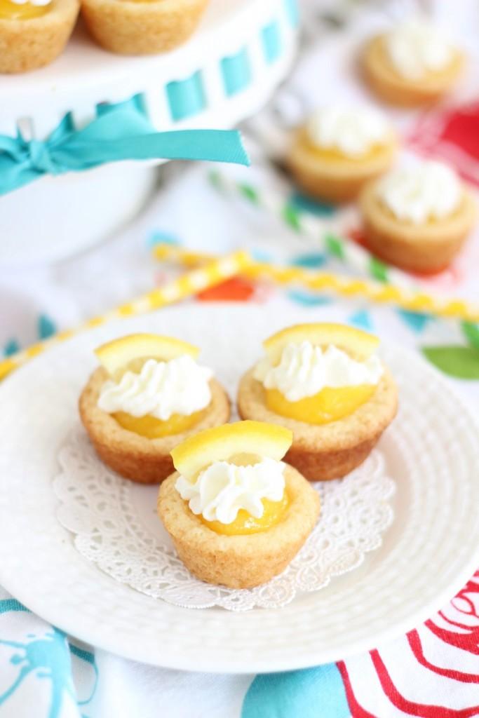 lemon cream pie cookie cups 3