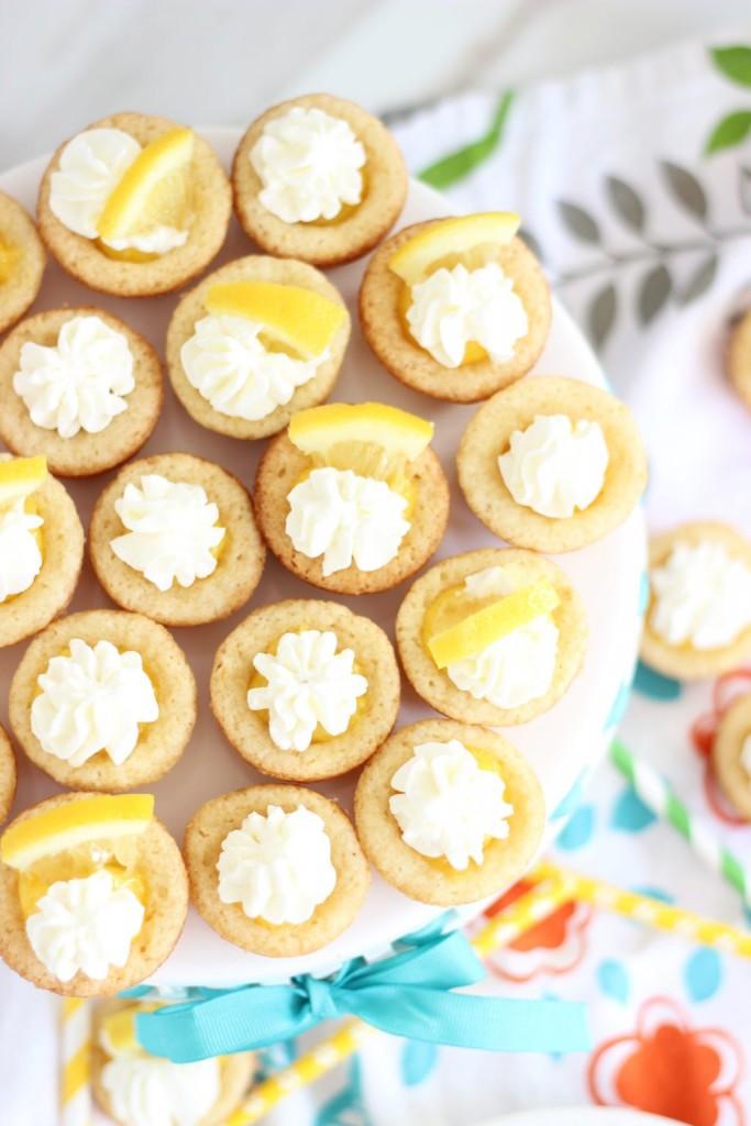 lemon cream pie cookie cups 9