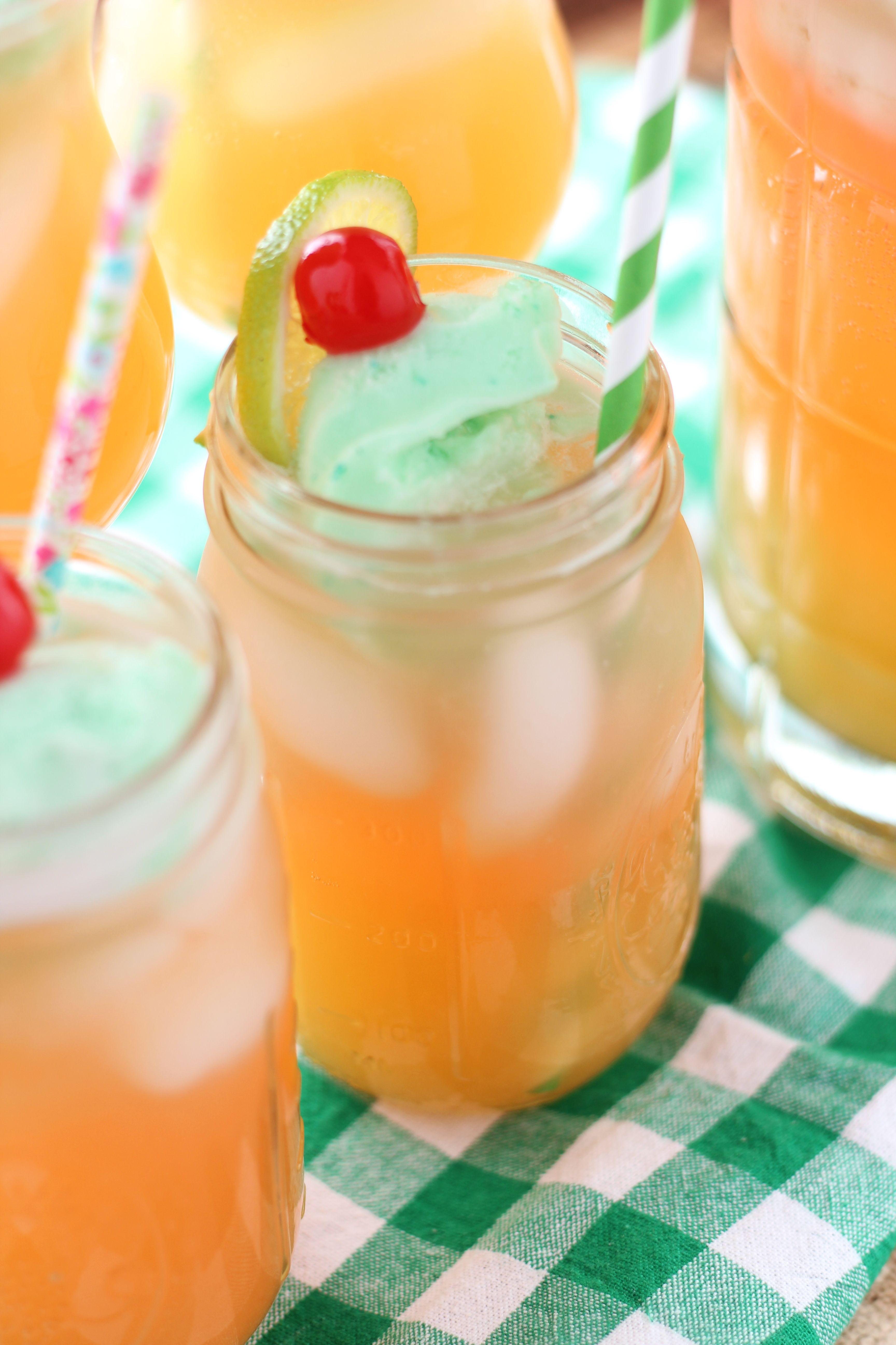 Lime Sherbet Punch