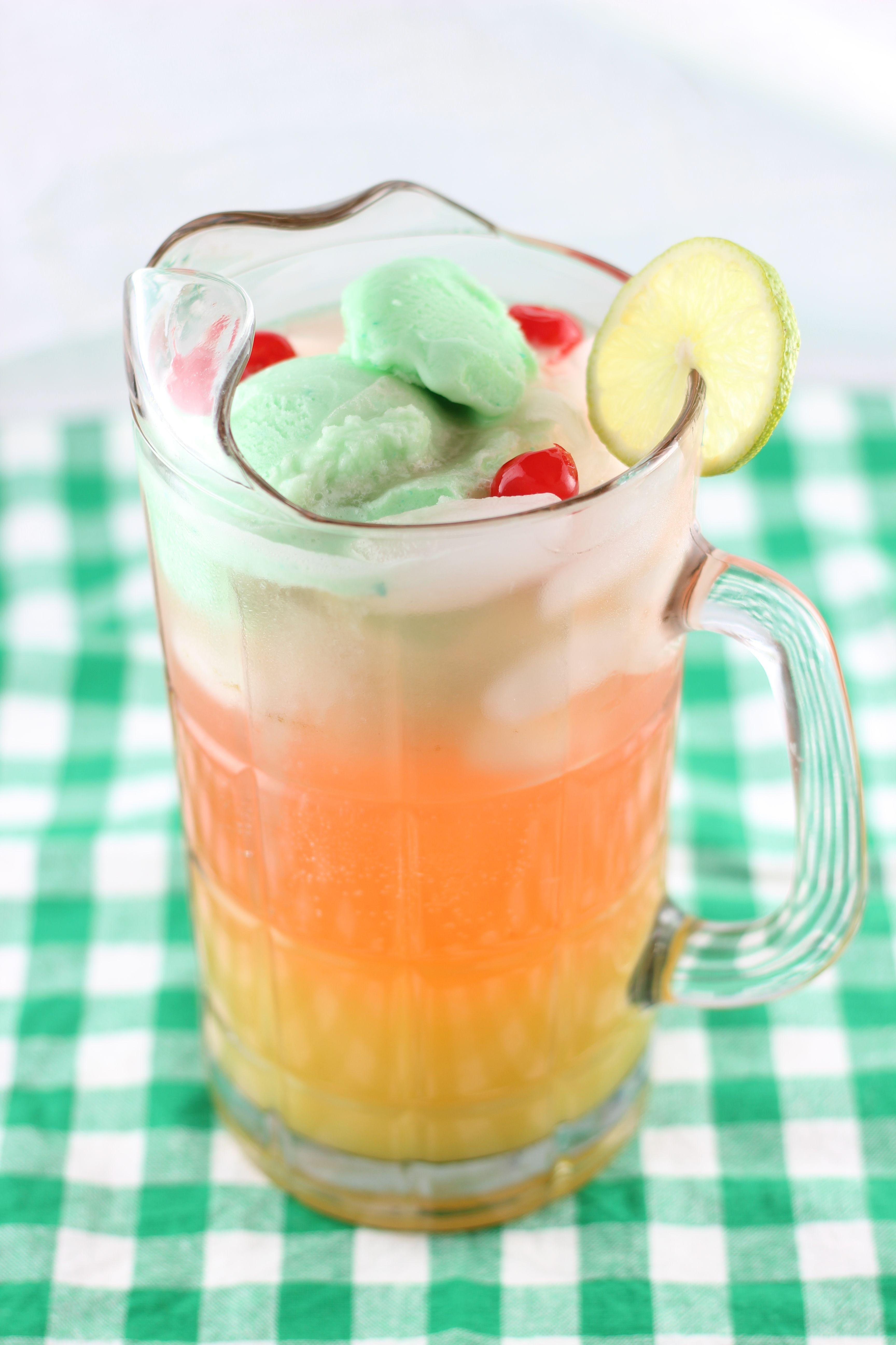 lime sherbet punch 11