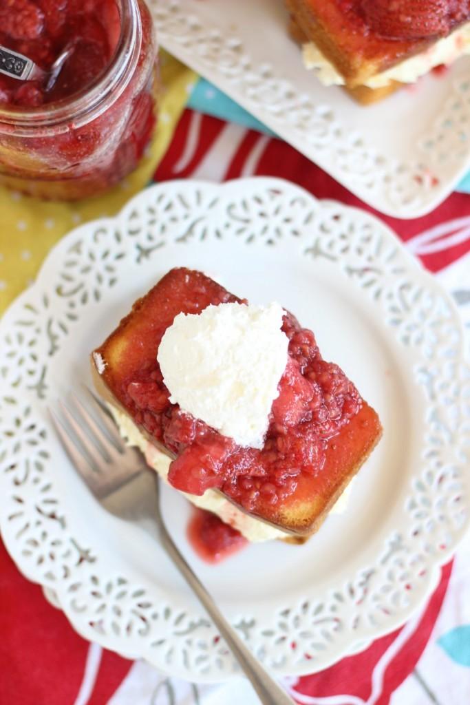 mixed berry pound cake shortcakes 11