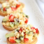 tropical bruschetta with mango curd 9