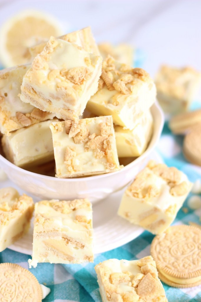 5-minute lemon cream pie fudge 10