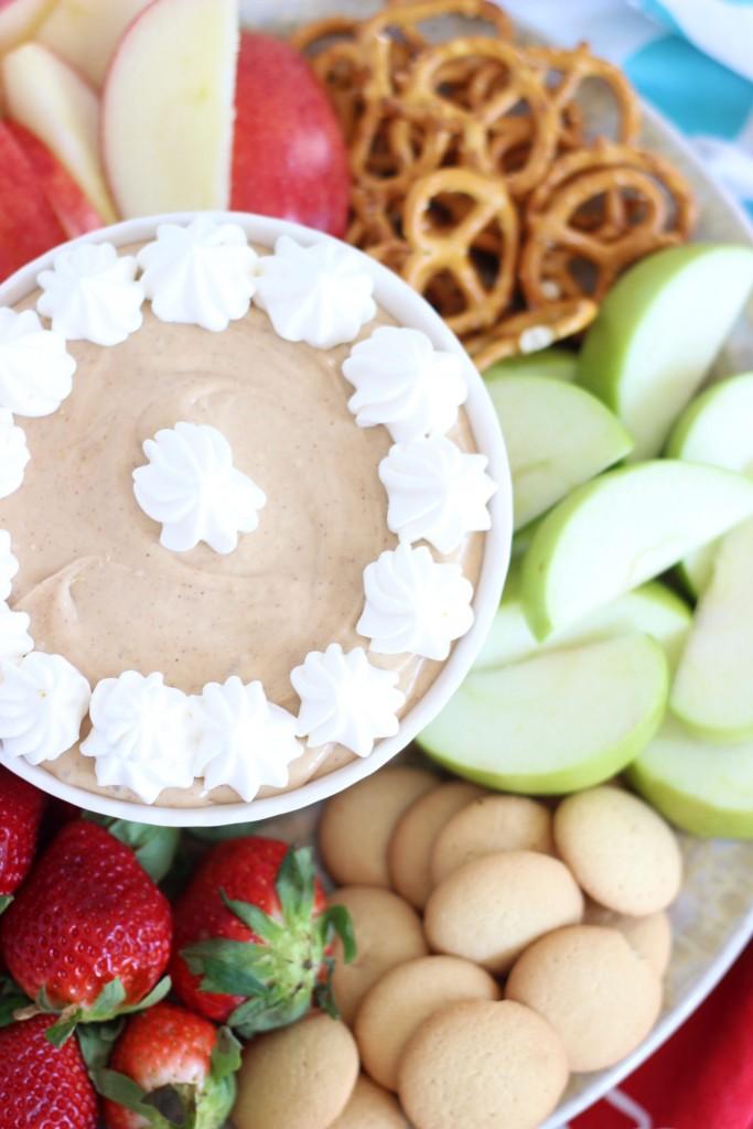5-minute peanut butter dip 1